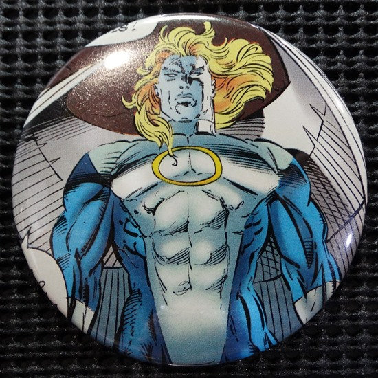 """ANGEL/ARCHANGEL/X-MEN"" POP CULTURE 3"" PINBACK/PIN-BACK COMIC BUTTON"