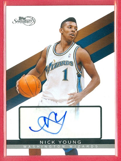 """Nick Young"" SP AUTOGRAPH CARD #'ed 3778/6225"