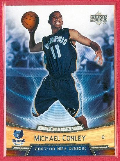 """Michael Conley"" UPPER DECK ROOKIE BOX SET CARD #6"