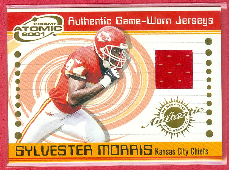 """""""Sylvester Morris"""" SP GAME JERSEY CHASE CARD #39"""
