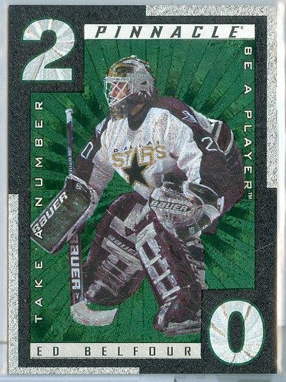 """Ed Belfour"" SP TAKE A NUMBER FOIL CARD #TN 3"