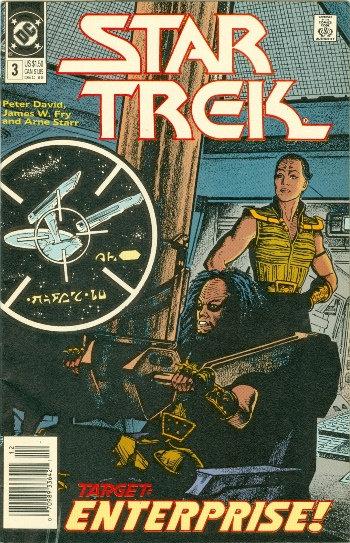 "DC COMICS 1989 ""STAR TREK"" #3"