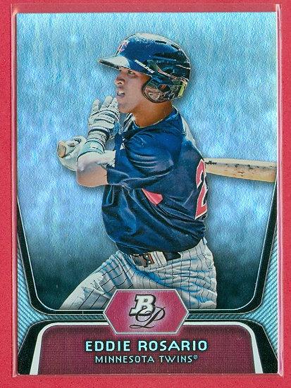 Eddie Rosario 2012 BOWMAN PLATINUM RC CARD #BPP36