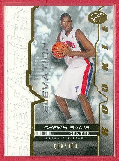 """Cheikh Samb"" ELEVATION RC CHASE CARD #'ed 540/999"