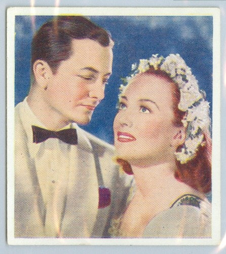 1939 Joan Crawford / Robert Young TOBACCO CARD #5