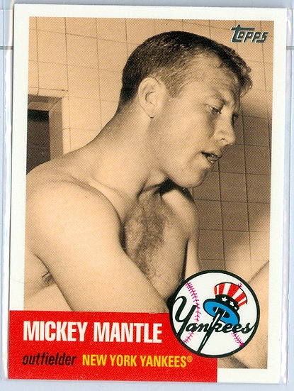 """""""Mickey Mantle"""" SP MICKEY MANTLE STORY Card #MMS17"""
