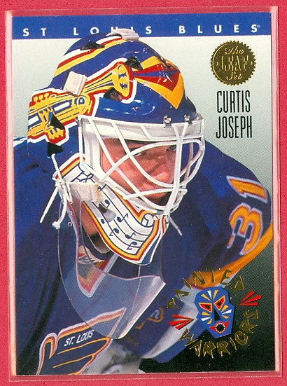 """Curtis Joseph"" PAINTED WARRIORS CHASE CARD #2"