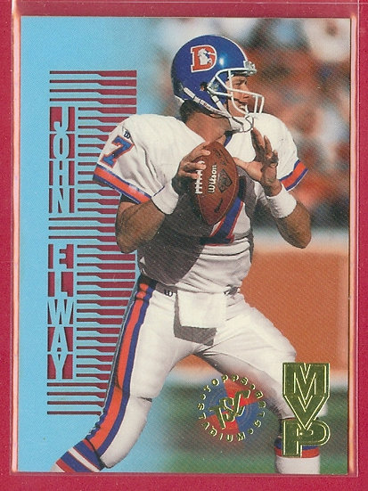 """John Elway"" 1995 STADIUM CLUB MVPs CARD #MVP5"