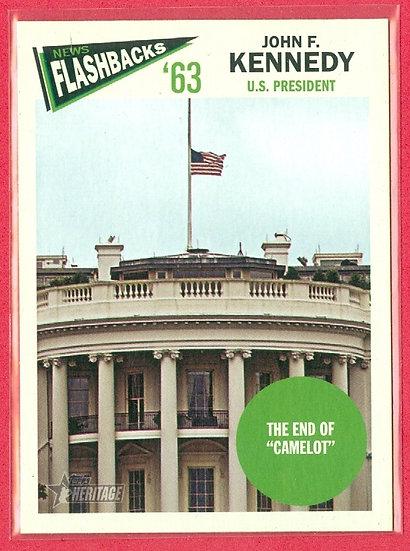 """""""President John F. Kennedy"""" 2012 TOPPS HERITAGE"""