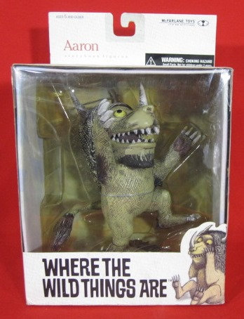 """""""AARON"""" WHERE THE WILD THINGS ARE BOXED FIGURE"""