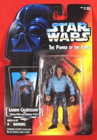 """""""Lando Calrissian"""" STAR WARS ACTION FIGURE"""