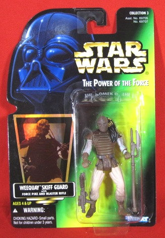 """Weequay Skiff Guard"" STAR WARS ACTION FIGURE"