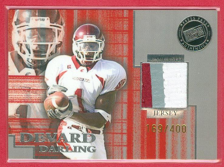 """Devard Darling"" SP 3-COLOR PATCH CARD #d 169/400"