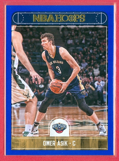 """Omer Asik"" NBA HOOPS SP ""BLUE"" PARALLEL CARD #162"