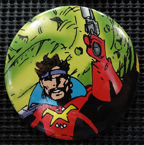 """CORSAIR/STARJAMMERS"" POP CULTURE 3"" PINBACK/PIN-BACK COMIC BUTTON"