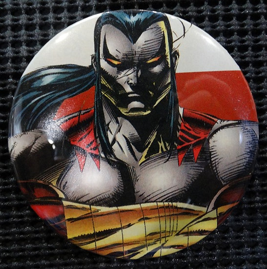 """RIPCLAW/CYBER FORCE"" POP CULTURE 3"" PINBACK/PIN-BACK COMIC BUTTON"