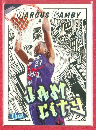 Marcus Camby 1997-98 ULTRA SP JAM CITY CARD #10-JC