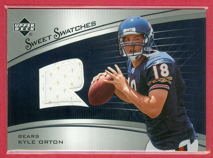 """Kyle Orton"" SP RC EVENT-WORN JERSEY CHASE CARD"