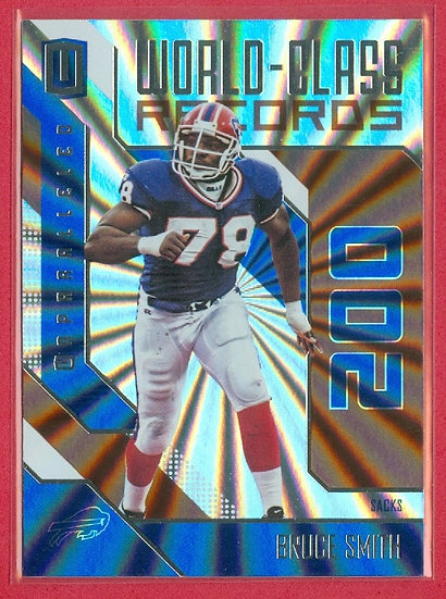 Bruce Smith UNPARALLELED BRONZE CHASE CARD #WCR-6