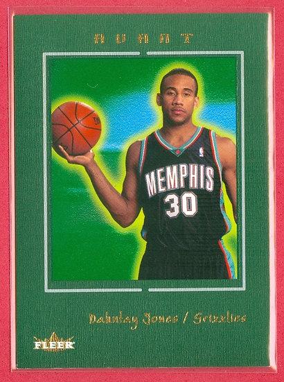 """Dahntay Jones"" FLEER AVANT SP RC CARD #d 671/699"