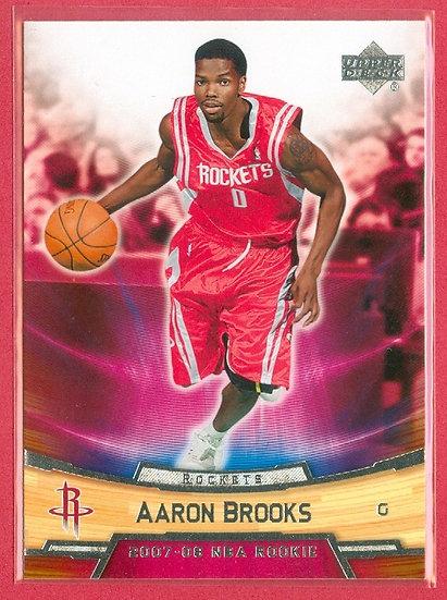 """Aaron Brooks"" UPPER DECK ROOKIE BOX SET CARD #4"