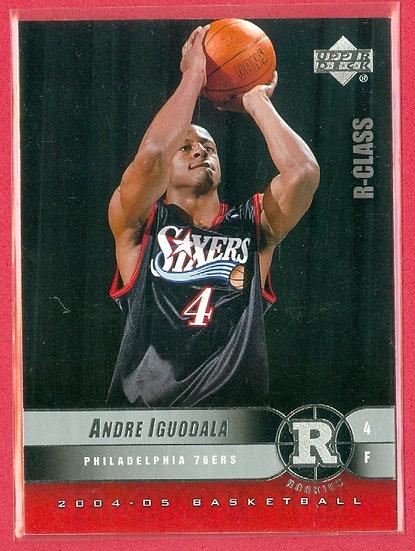 """Andre Iguodala"" 2004-05 UPPER DECK RC CARD #98"