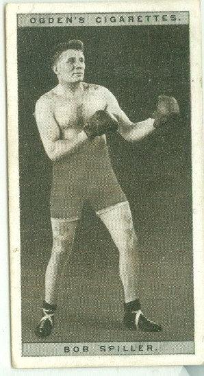 1928 OGDEN'S Tommy McInnes BOXING TOBACCO CARD #25
