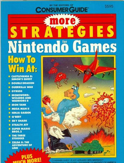 "1989 ""MORE STRATEGIES for NINTENDO GAMES"" +MORE!"