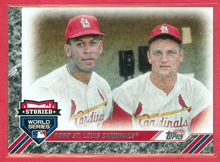 """Cardinals"" 2017 TOPPS BASEBALL CHASE CARD"