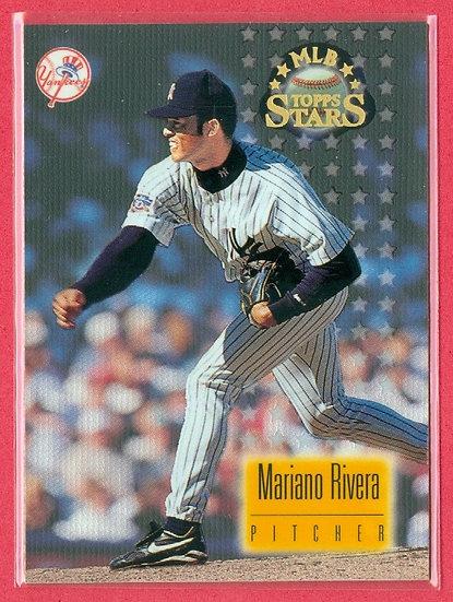 """Mariano Rivera"" 1997 TOPPS STARS FOIL CARD #94"