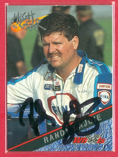 """""""Randy LaJoie"""" IN PERSON/THROUGH THE MAIL AUTO"""