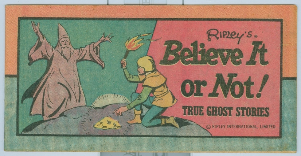 1977 RIPLEY'S BELIEVE IT OR NOT! #1 MINI COMIC