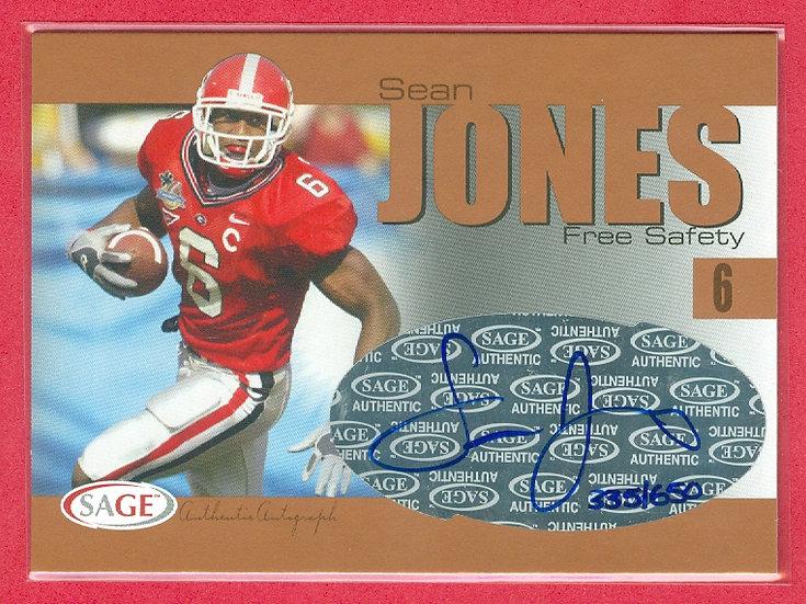 """Sean Jones"" SP RC AUTOGRAPH CARD #'ed 335/650"