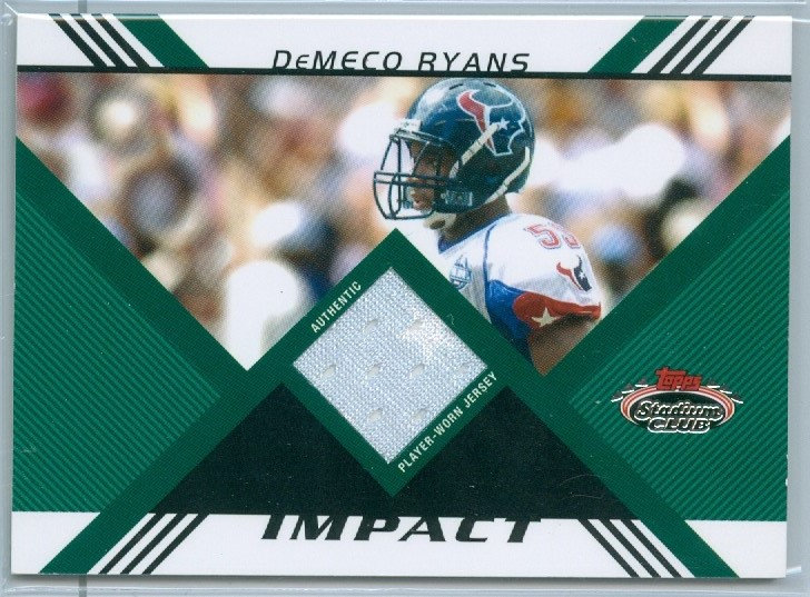 """DeMeco Ryans"" AUTHENTIC PRO BOWL JERSEY #d /1349"
