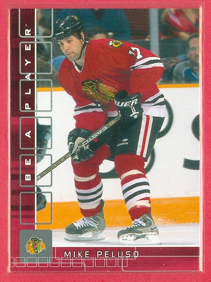 Mike Peluso BAP RED PARALLEL CHASE CARD #d 91/200