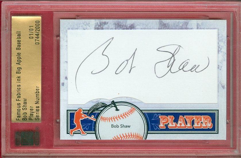 """Bob Shaw"" SSP CUT SIGNATURE CARD #'ed 01/01"