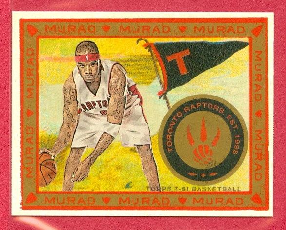 """""""Jermaine O'Neal"""" T-51 MURAD MINI CHASE CARD #88"""