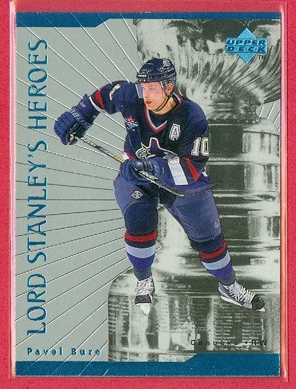 """Pavel Bure"" LORD STANLEY'S HEROES CARD #LS26"