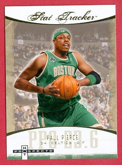 """Paul Pierce"" SP ""STAT TRACKER"" CHASE CARD #ST-28"