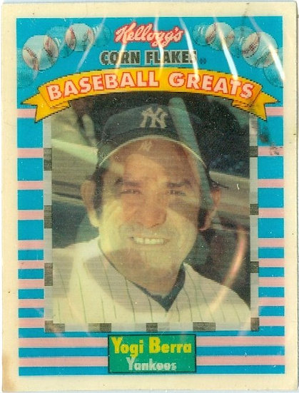 """Yogi Berra"" PRODUCT PREMIUM MOTION Card #11"