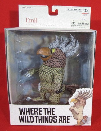 """EMIL"" WHERE THE WILD THINGS ARE BOXED FIGURE"