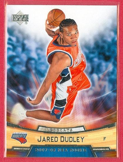 """Jared Dudley"" UPPER DECK ROOKIE BOX SET CARD #10"