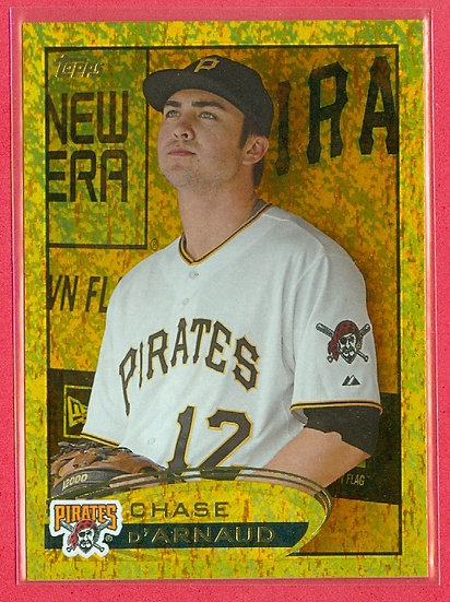 """""""Chase d'Arnaud"""" 2012 TOPPS SP """"GOLD SPARKLE"""" #102"""