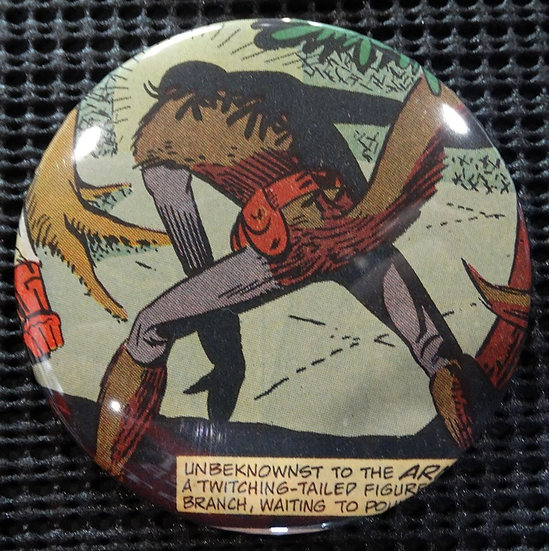 """1st SQUIRREL GIRL"" POP CULTURE 3"" PINBACK/PIN-BACK COMIC BUTTON"
