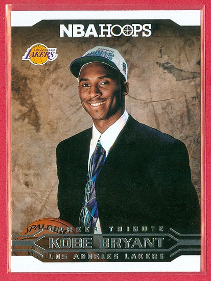 """Kobe Bryant"" NBA HOOPS ""CAREER TRIBUTE"" CARD #291"