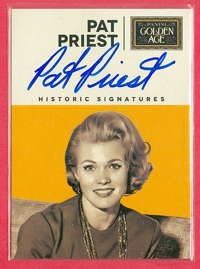 """Pat Priest"" GOLDEN AGE SP AUTOGRAPH CHASE CARD"