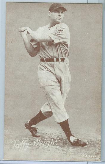 "1931-64 ""Taffy Wright"" PENNY ARCADE EXHIBIT CARD"