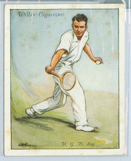 """1931 WILLS """"H.G.N. Lee"""" TOBACCO CARD #16"""