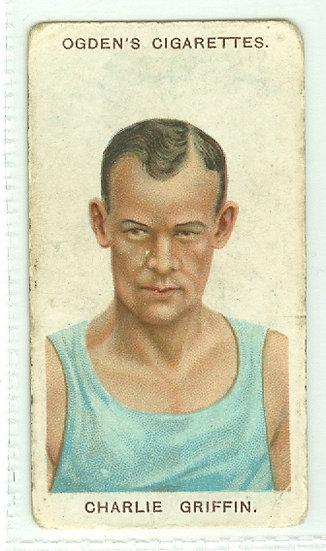 """Charlie Griffin"" PUGILISTS/WRESTLERS TOBACCO CARD"