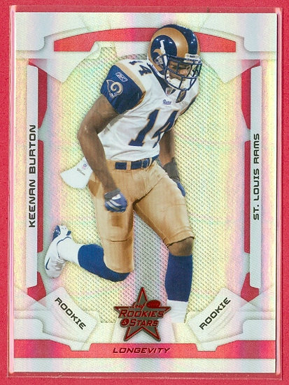 """Keenan Burton"" LEAF R&S FOIL RC CARD #d 230/249"